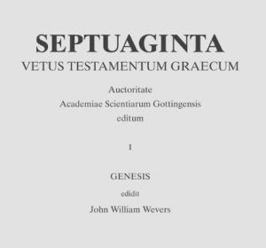 Septuaginta.band 1