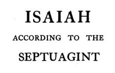 isaiah lxx