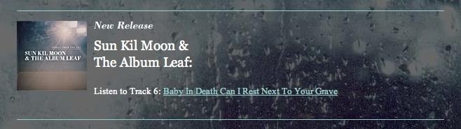 SKM Album Leaf