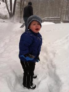 2yo snow