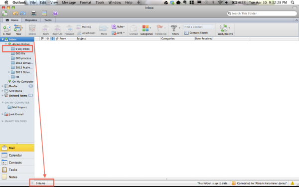 "Ever-elusive ""Inbox Zero"""