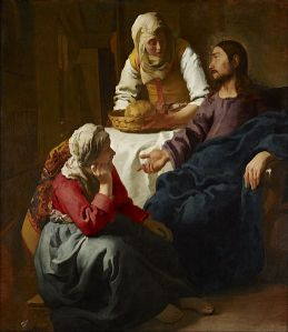 Christ in the House of Martha and Mary, by Johannes (Jan) Vermeer