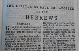 Paul Hebrews