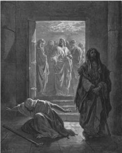 The Pharisee and the Tax Collector, by Gustave Doré (1832–1883)