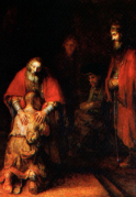 The Prodigal Son Returns, Rembrandt