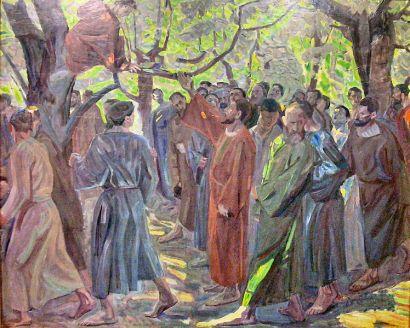 Zacchaeus, by Niels Larsen Stevns