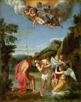 Baptism of Christ, Francesco Albani