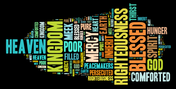 Beatitudes Wordle
