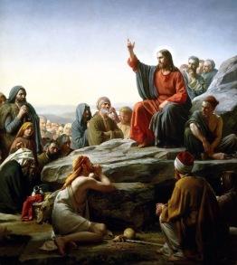 Sermon on the Mount, Carl Bloch (1834-1890)