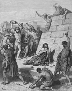 The Stoning of Stephen, Gustave Doré (1832–1883)