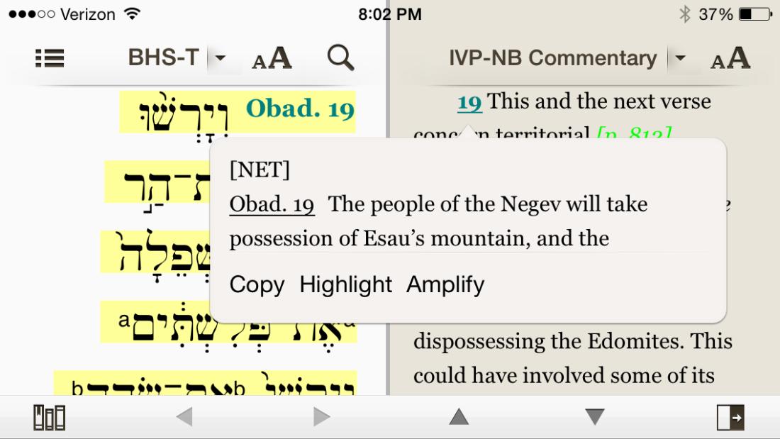 Reading Obadiah