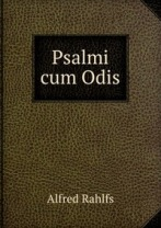 Psalms with Odes