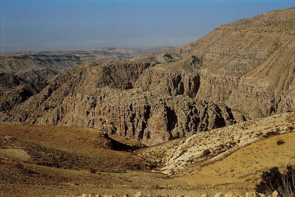 Mountains in Edom (photo: Garo Nalbandian, from Carta's Sacred Bridge atlas)