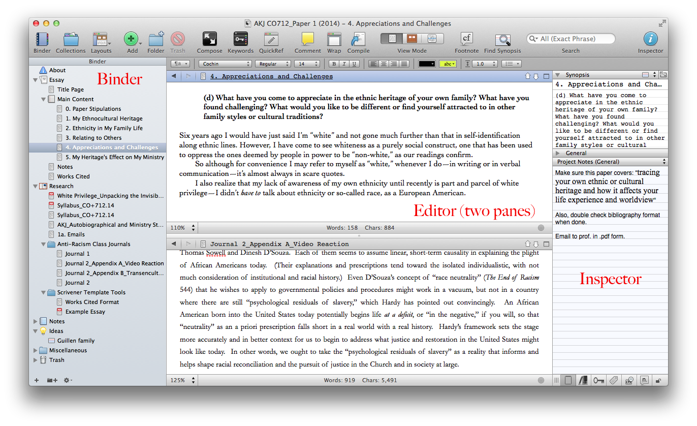 scrivener writing software Enter scrivener: a word processor and project management tool that stays with you from that first, unformed idea all the way through to the final draft outline and structure your ideas.