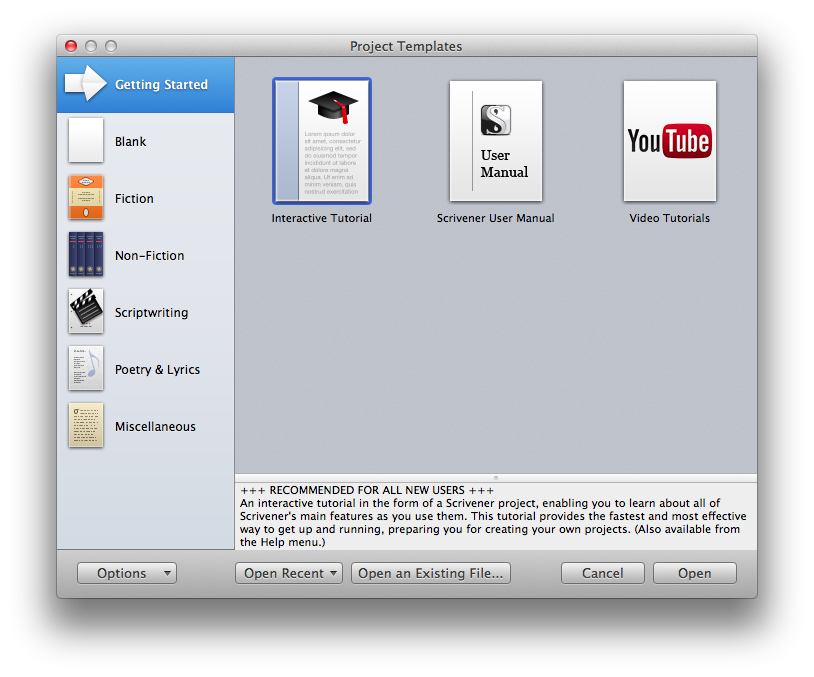 Scrivener_Getting Started