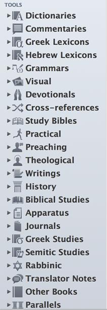 23 Tools Categories