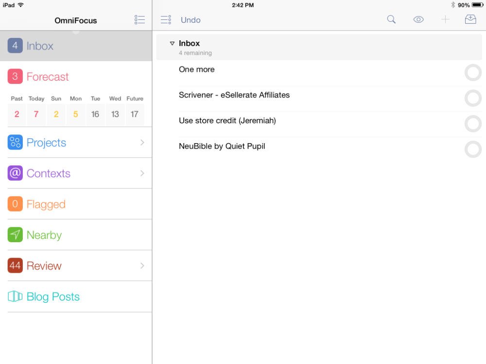 The Last To-Do App You'll Ever Need: OmniFocus (2/6)
