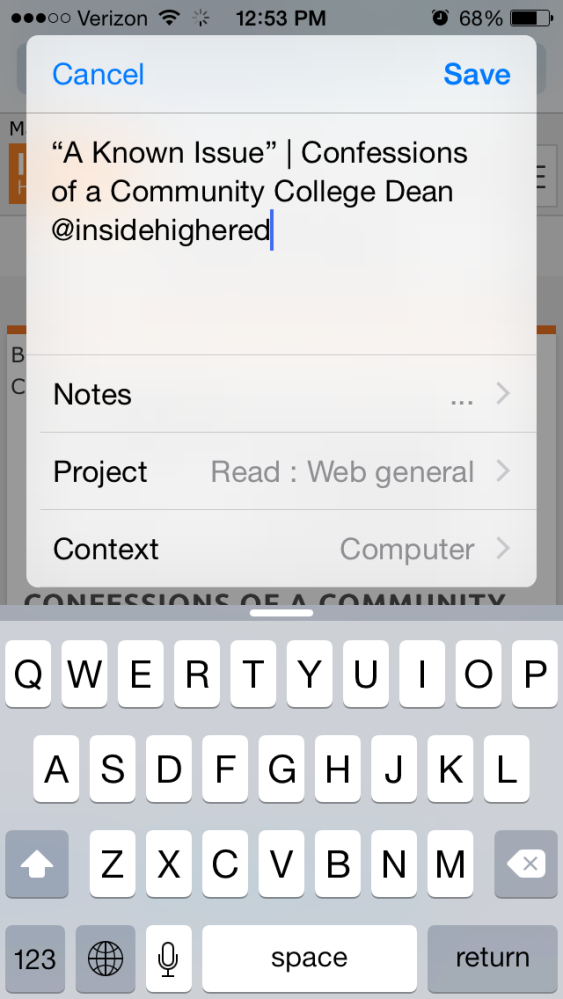 The Last To-Do App You'll Ever Need: OmniFocus (6/6)