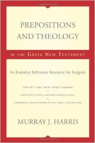 Prepositions and Theology