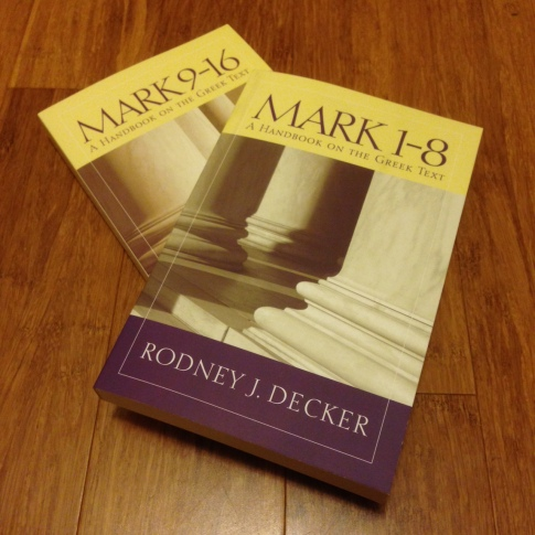 Rod Decker on Mark