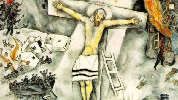 Alleluia! To Us a Child Is Born! | Words on the Word Chagall White Crucifixion
