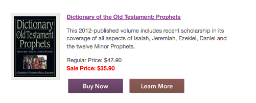 IVP Prophets