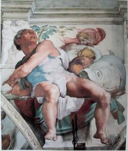 Jonah / Michelangelo / Sistine Chapel