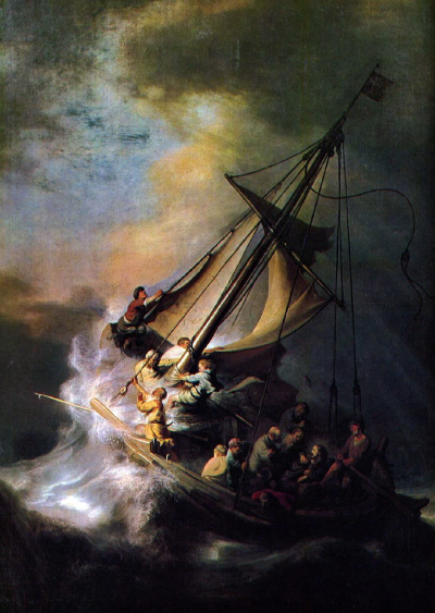 The Storm on the Sea of Galiee
