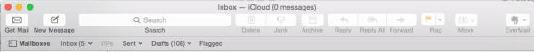 Mail Menu Bar