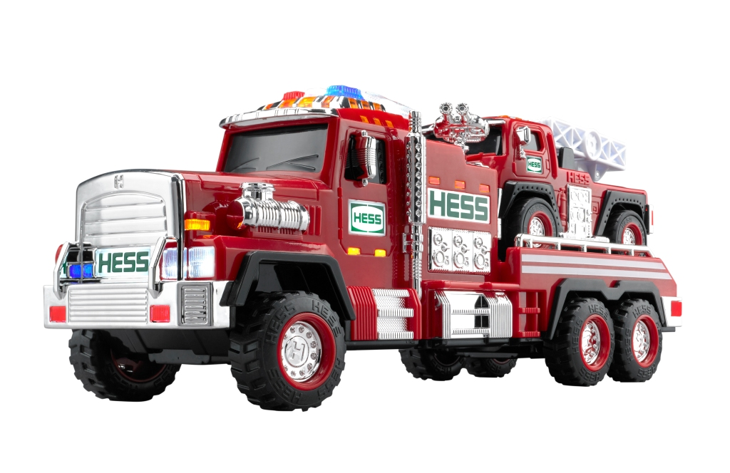 Actually *two* trucks! (Image via Hess)