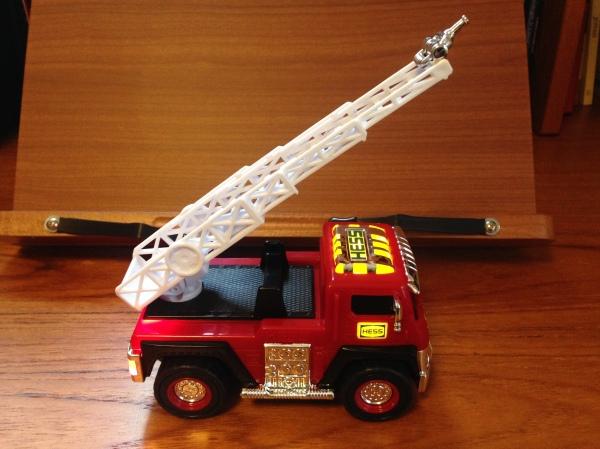 Ladder Rescue Lit Up Extended Ladder