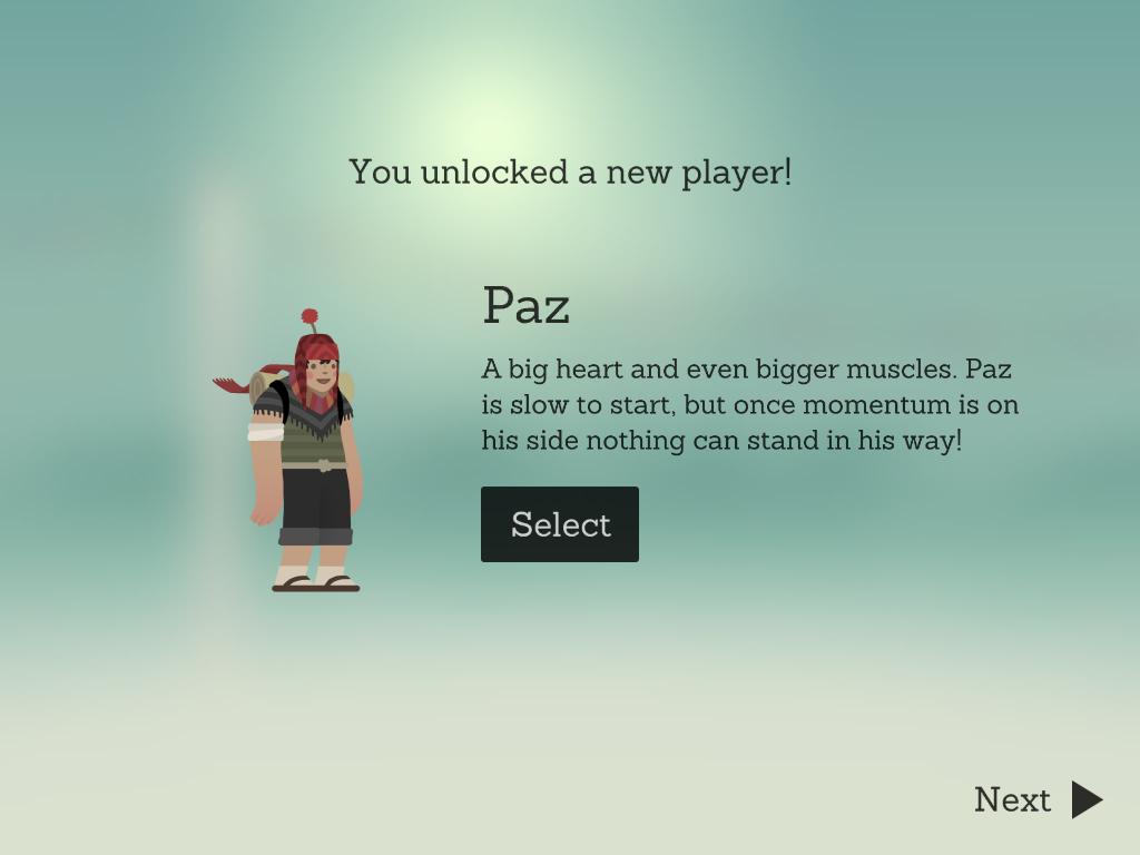 New Player Paz