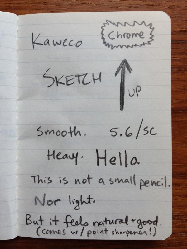 4_Kaweco SKETCH UP
