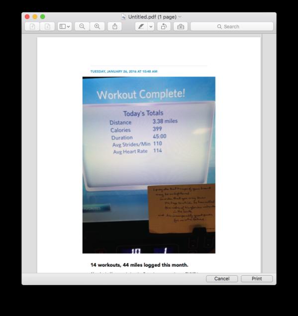 Mac PDF Export