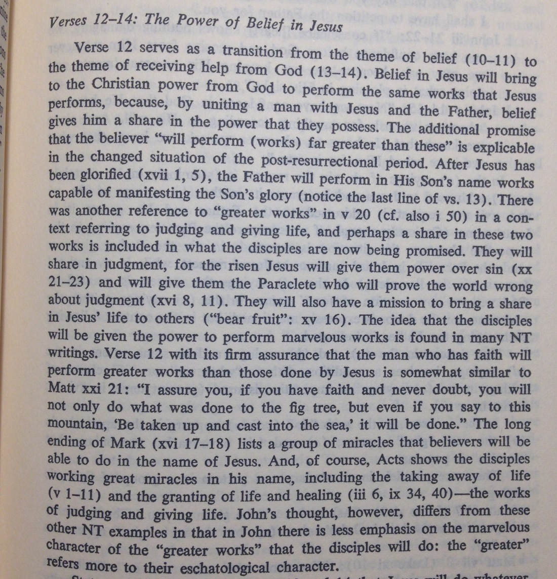 Ray Brown on John 14.12