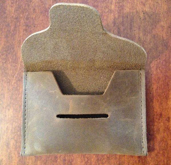 Spike Wallet Open Empty