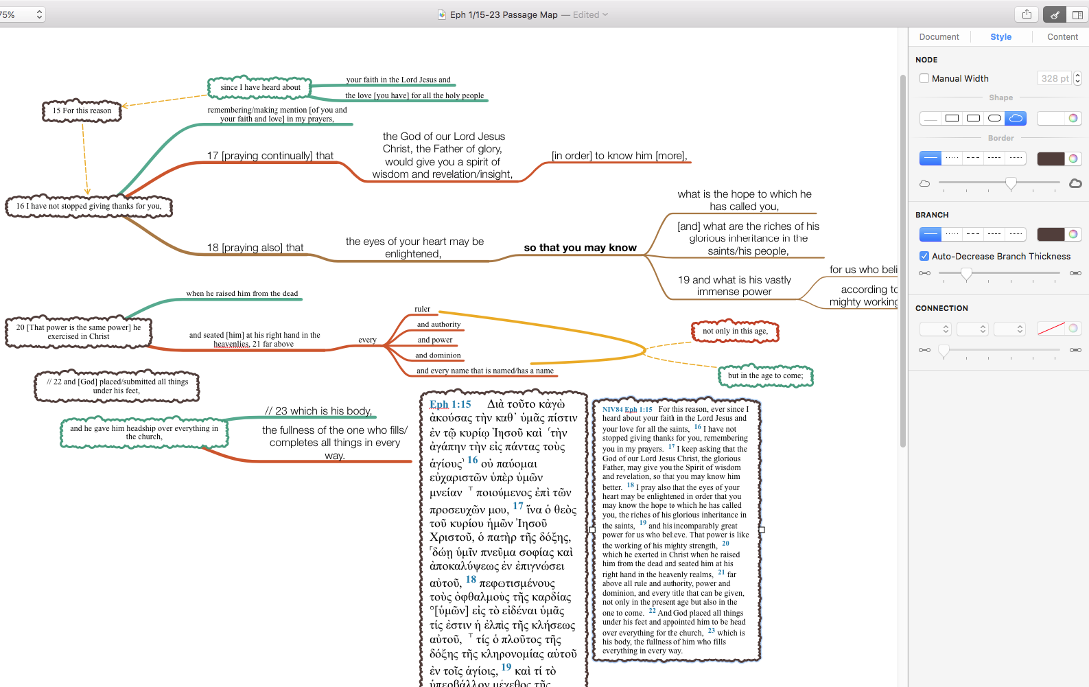 Diagram sentence diagramming tool enter map of canada manitoba ephesians 115 23 is also one sentence in greek akj mind map sentence pooptronica Images