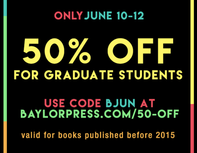 Baylor University Press Sale