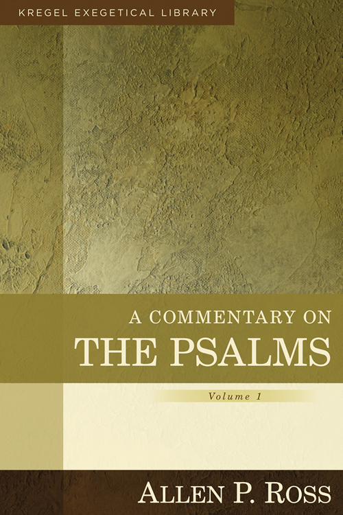 Ross Psalms Vol. 1