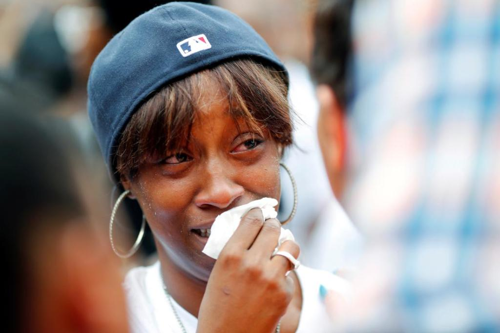 Diamond Reynolds, girlfriend of Philando Castile (© Adam Bettcher / Reuters—REUTERS)