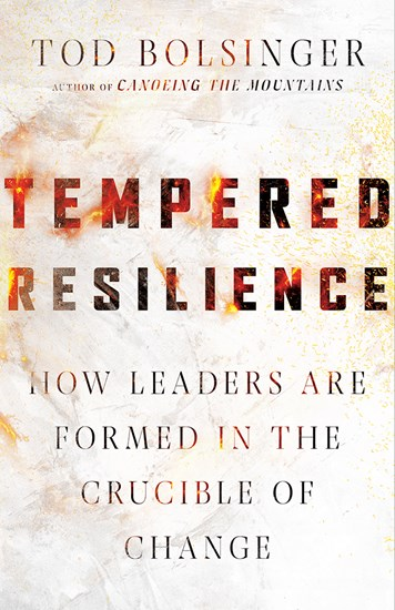 Book cover of Tempered Resilience